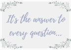 """Little Women and """"the answer to every question"""""""
