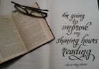 Shining hours of reading: Little Women quotes #1