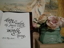 Quote worth flowers PIC
